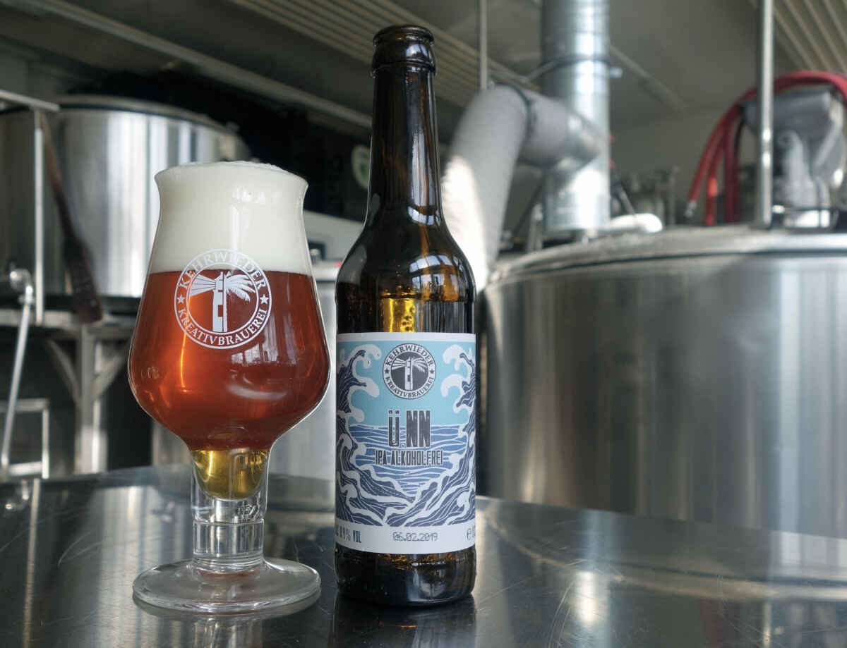 Tysk øl i glas
