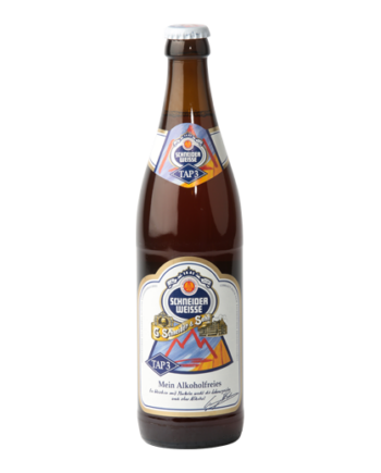Stor ølflaske